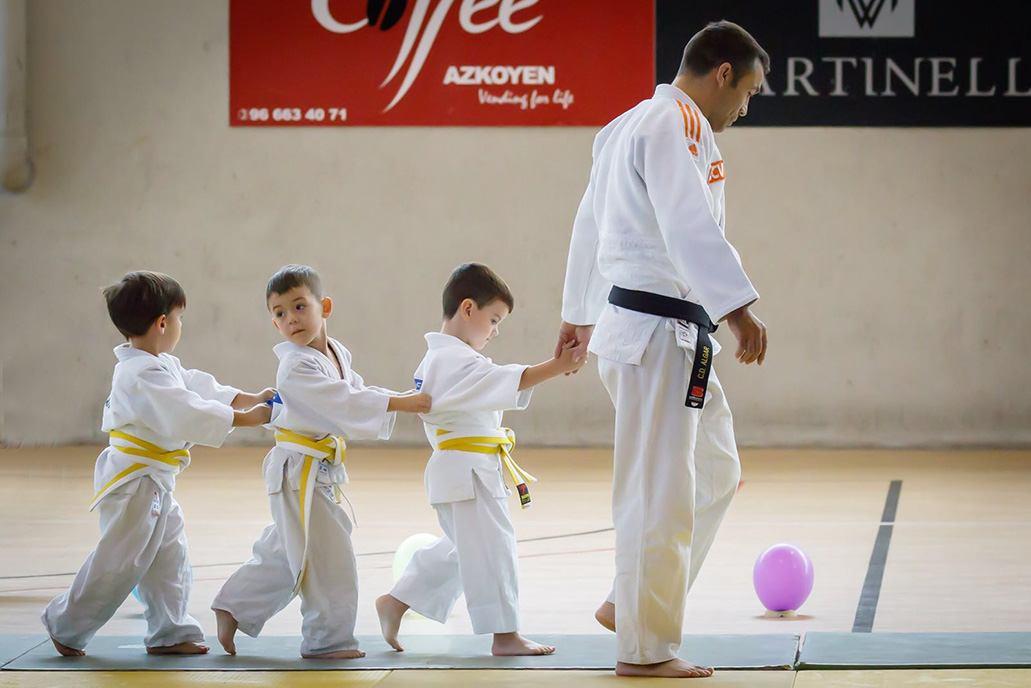 judo niños en cdalgar gimnasio elche
